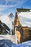 Opus Ski Hut, Ophir Pass, San Juan Range