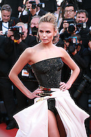 Natasha Poly at the gala screening for the film Carol at the 68th Cannes Film Festival, Sunday May 17th 2015, Cannes, France.