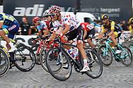 Julian Alaphilippe (FRA - QuickStep - Floors) Polka dots jersey, during the 105th Tour de France 2018, Stage 21, Houilles - Paris Champs-Elysees (115 km) on July 29th, 2018 - Photo Luca Bettini / BettiniPhoto / ProSportsImages / DPPI