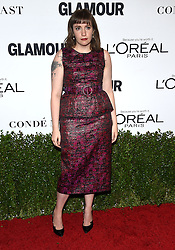 November 14, 2016 - Hollywood, California, U.S. - Lena Dunham arrives for the Glamour Women of the Year Awards 2016 at the Neuehouse Hollywood. (Credit Image: © Lisa O'Connor via ZUMA Wire)