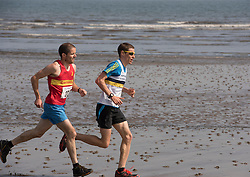 Portobello Beach Run - runners take to the beach on a four mile run acfross the sands at Portobello, organised by Portobello Running Club<br /> © Jon Davey/ EEm