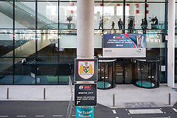 Bristol City branding in front of Club Wembley - Photo mandatory by-line: Rogan Thomson/JMP - 07966 386802 - 22/03/2015 - SPORT - FOOTBALL - London, England - Wembley Stadium - Bristol City v Walsall - Johnstone's Paint Trophy Final.