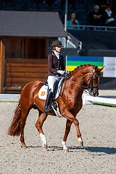 Van Liere Dinja, NED, Independent Little Me<br /> Nederlands Kampioenschap dressuur<br /> Ermelo 2020<br /> © Hippo Foto - Sharon Vandeput<br /> 20/09/2020