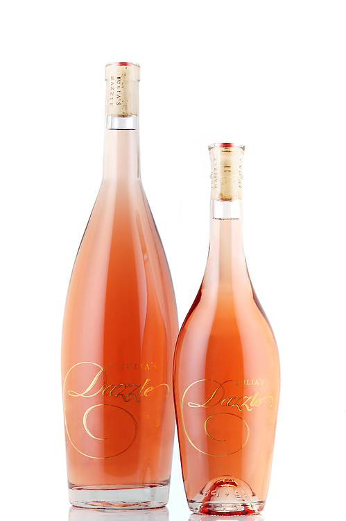 Julia's Dazzle a Pinot Gris Rose produced by Long Shadow's Vintners