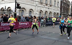 Runners in action during the 2018 London Landmarks Half Marathon. PRESS ASSOCIATION Photo. Picture date: Sunday March 25, 2018. Photo credit should read: John Walton/PA Wire