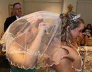 Leslie Adams and Ryan Welshans wedding, November 7, 2010.