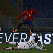 20170327 Calcio, amichevole : Italia vs Spagna under 21