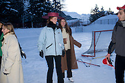 FIONA SCHERKAMP; BEATRICE BORROMEO, Treasure Hunt in aid of the Knights of Malta,  St. Moritz, Switzerland. 23 January 2009 *** Local Caption *** -DO NOT ARCHIVE-© Copyright Photograph by Dafydd Jones. 248 Clapham Rd. London SW9 0PZ. Tel 0207 820 0771. www.dafjones.com.<br /> FIONA SCHERKAMP; BEATRICE BORROMEO, Treasure Hunt in aid of the Knights of Malta,  St. Moritz, Switzerland. 23 January 2009