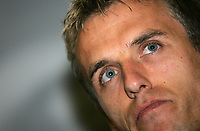 Photo: Paul Thomas.<br /> England Press Conference. 30/08/2006. <br /> <br /> Phil Neville.