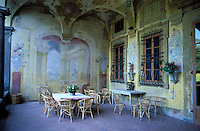 Italie - Toscane - Province de Lucca - Villa Mansi. // Italy. Tuscany. Lucca province. Villa Mansi.