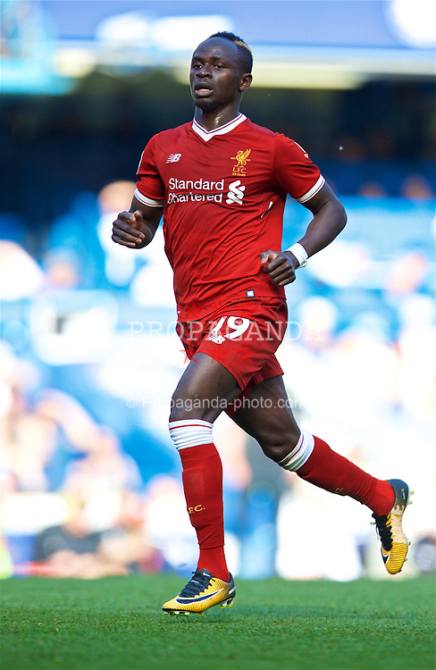 LONDON, ENGLAND - Sunday, May 6, 2018: Liverpool's Sadio Mane during the FA Premier League match between Chelsea FC and Liverpool FC at Stamford Bridge. (Pic by David Rawcliffe/Propaganda)