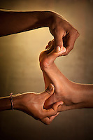 The Fivelements healers include those who practice ancient teaching in reflexology.