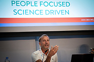 22nd International AIDS Conference (AIDS 2018) Amsterdam, Netherlands.  <br /> Photo shows Mark Dybul, Georgetown University Medical Centre, United States.<br /> Photo © Steve Forrest/Workers' Photos