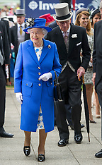Queen at Epsom Derby 2-6-12