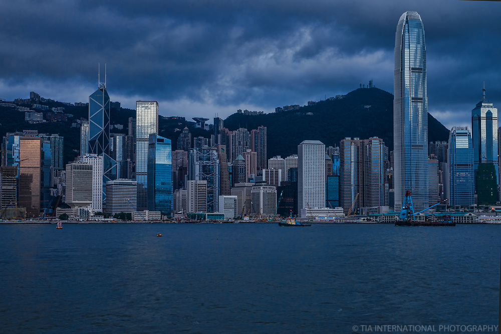 Cloudy Morning, Victoria Harbour