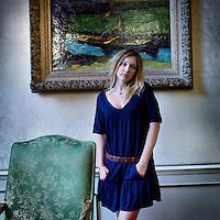 Nederland, Amsterdam , 2 augustus 2010..De Franse actrice en model Ludivine Sagnier..French actress and modelLudivine Sagnier.