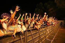 Hot Players durante a 25ª edição do Planeta Atlântida. O maior festival de música do Sul do Brasil ocorre nos dias 31 Janeiro e 01 de fevereiro, na SABA, praia de Atlântida, no Litoral Norte do Rio Grande do Sul. FOTO: <br /> Gustavo Granata/ Agência Preview