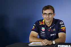July 20, 2018 - Hockenheim, Germany - Motorsports: FIA Formula One World Championship 2018, Grand Prix of Germany, ..Pierre Wache (Aston Martin Red Bull Racing) (Credit Image: © Hoch Zwei via ZUMA Wire)