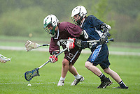Lakes Region Lacrosse U15 boys versus Cocheco Dover May 15, 2011.