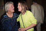 LYNN BARBER; SARAH LUCAS;  Sarah Lucas- Scream Daddio party hosted by Sadie Coles HQ and Gladstone Gallery at Palazzo Zeno. Venice. 6 May 2015.