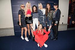 Gigi Hadid, Valentina Marzullo, Bonnie Strange, Marta Pascual Lozano, Erika Boldrin, Linda Tol, Veronica Ferraro attending the  TOMMYXGIGI event at the Tommy Hilfiger store, Milan, Italy.