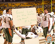 2001 Miami Hurricanes Football @ Pittsburgh