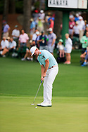 Brandt Snedeker (USA) on the 2nd green during the 1st round at the The Masters , Augusta National, Augusta, Georgia, USA. 11/04/2019.<br /> Picture Fran Caffrey / Golffile.ie<br /> <br /> All photo usage must carry mandatory copyright credit (© Golffile | Fran Caffrey)