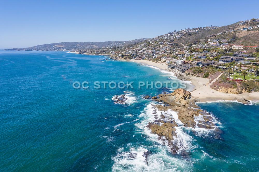Aerial Photo of Laguna Beach and Coastline