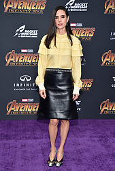 Jennifer Connelly attends the World Premiere of Avengers: Infinity War on April 23, 2018 in Los Angeles, CA, USA. Photo by Lionel Hahn/ABACAPRESS.COM