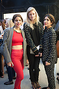 ALIX DUVERNOY; REBECCA CORBIN-MURRAY; NOOR FARES, Opening of Dairy with Quicksand- John M. Armleder. Dairy art Centre. ~Bloomsbury. 24 April 2013.