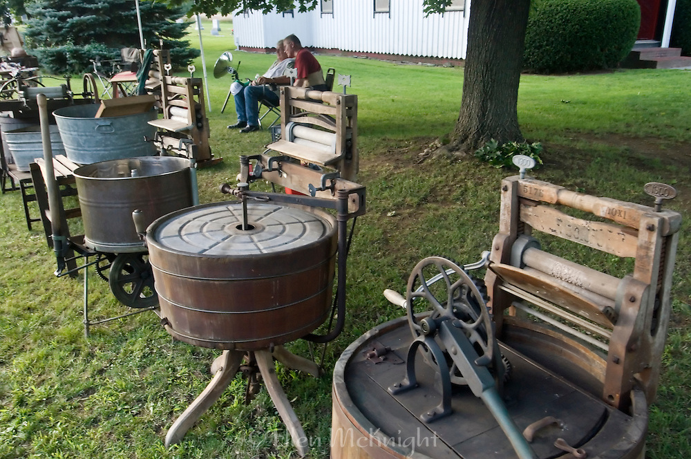 Antique Washing Machines at Clermont Town Fair