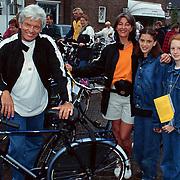 Fietstocht voor het Lilianefonds, Ben Cramer en gezin