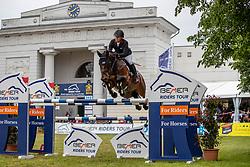 BRINKMANN Markus (GER), Pikeur Dylon<br /> Redefin - Pferdefestival 2019<br /> Großer Preis der Deutschen Kreditbank AG<br /> BEMER Riders Tour - Wertungsprüfung<br /> Große Tour – Finale: Int. Weltranglisten-Springprüfung (1,60m) mit zwei Umläufen<br /> 26. Mai 2019<br /> © www.sportfotos-lafrentz.de/Stefan Lafrentz
