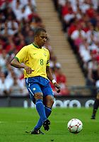 Photo: Tony Oudot.<br /> England v Brazil. International Friendly. 01/06/2007.<br /> Gilberto Silva of Brazil