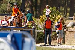 Everse Senna, NED, Evert<br /> European Championship Children, Juniors, Young Riders - Fontainebleau 1028<br /> © Hippo Foto - Dirk Caremans<br /> Everse Senna, NED, Evert
