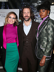 December 4, 2018 - Hollywood, California, United States - HOLLYWOOD, LOS ANGELES, CA, USA - DECEMBER 04: Actors Jason Sudeikis, Olivia Wilde and KiKi Layne arrive at the Los Angeles Special Screening Of Annapurna Pictures' 'If Beale Street Could Talk' held at ArcLight Hollywood on December 4, 2018 in Hollywood, Los Angeles, California, United States. (Credit Image: © face to face via ZUMA Press)