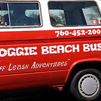 Cardiff by the Sea 100th Birthday Parade: Doggie Beach Bus