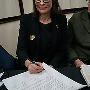 London, Uk. 15th October 2017. Treena Fleming – Detective Superintendent of Islington; Lead for Safeguarding for Central North Board join the discussion Hate Crime Against Muslim Women.