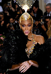Winnie Harlow attending the Metropolitan Museum of Art Costume Institute Benefit Gala 2019 in New York, USA.