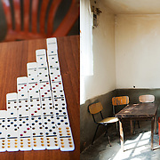 Domino / Table and stove