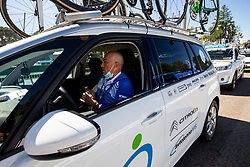Gorazd Penko, coach of Slovenia during Women Elite Road Race at UCI Road World Championship 2020, on September 26, 2020 in Imola, Italy. Photo by Vid Ponikvar / Sportida