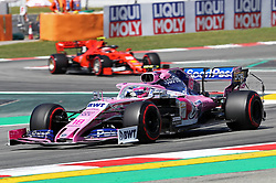 May 10, 2019 - Barcelona, Spain - Racing Point of Lance Stroll during the practices of the GP Spain Formula 1, on 10th May 2019, Barcelona, Spain. (Credit Image: © Joan Valls/NurPhoto via ZUMA Press)