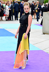 Florence Pugh arriving for Royal Academy of Arts Summer Exhibition Preview Party 2019 held at Burlington House, London. Picture date: Tuesday June 4, 2019. Photo credit should read: Matt Crossick/Empics