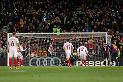 January 30, 2019 - Barcelona, BARCELONA, Spain - Cillessen of Barcelona in action during Spanish King championship, football match between Barcelona and Sevilla, January  30th, in Camp Nou Stadium in Barcelona, Spain. (Credit Image: © AFP7 via ZUMA Wire)