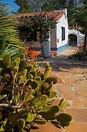 Main house at Leo Carillo Ranch Historic Park, near Carlsbad, San Diego County, California