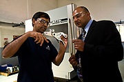 Bejoy George, an IT cosultant visits a manufacturing plant Bangalore, India