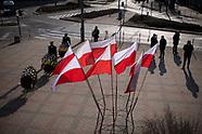 Skromne obchody 11. rocznicy katastrofy smoleńskiej w Białymstoku - 10.04.2021