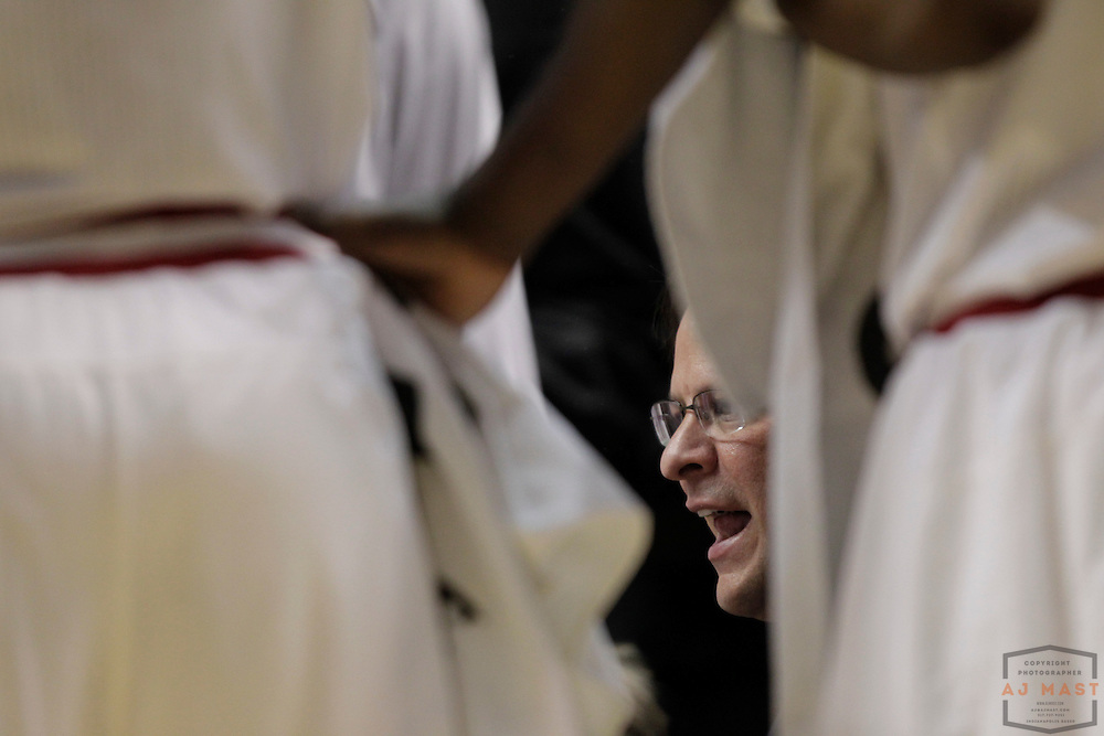 08 March 2012: Indiana Head Coach Tom Crean as the Indiana Hoosiers played the Penn State Nittany Lions in a college basketball game during the Big 10 Men's Basketball Championship in Indianapolis