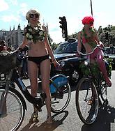 The Annual Naked Bike Ride through London , UK , 11/06/2011