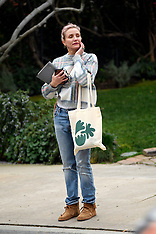 Cameron Diaz is seen for the first time since becoming a mother - 19 Jan 2020